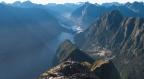 Climbing Mitre Peak